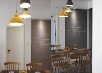 80平米一室一厅宜家风格餐厅图