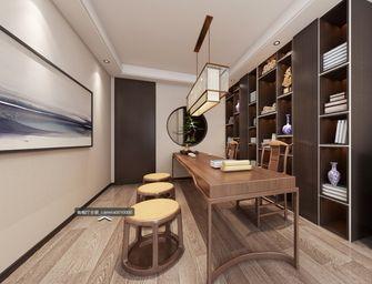 130平米三室两厅现代简约风格书房设计图