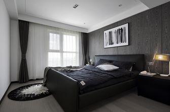 90平米复式现代简约风格卧室效果图