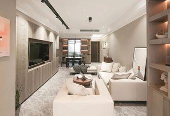 5-10万130平米三室两厅现代简约风格客厅装修图片大全
