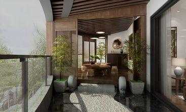 120平米四室两厅中式风格阳台图