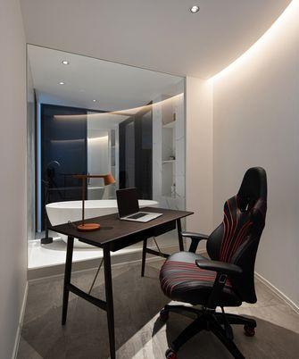 110平米一室两厅现代简约风格书房装修案例