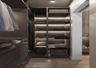 70平米公寓现代简约风格衣帽间图片