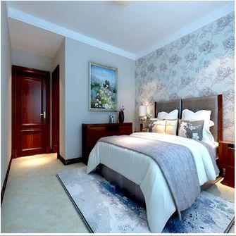 130平米三室三厅美式风格卧室图