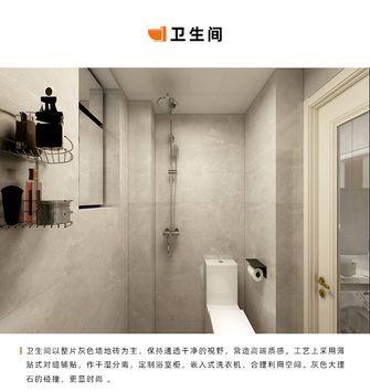 70平米三室一厅美式风格卫生间效果图