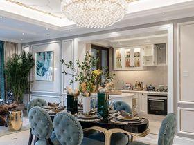 140平米四室兩廳現代簡約風格餐廳裝修案例