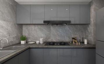 90平米三室三厅现代简约风格厨房效果图