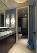 60平米公寓地中海风格卫生间图片大全
