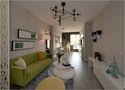 60平米公寓地中海风格客厅装修图片大全