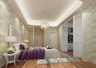 70平米三室三厅田园风格卧室欣赏图
