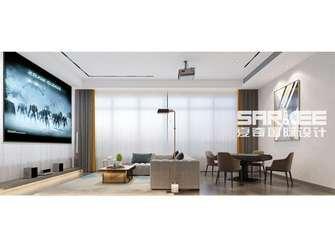 20万以上140平米别墅法式风格影音室装修案例