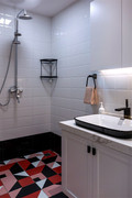 90平米宜家风格卫生间设计图