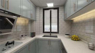 70平米三混搭风格厨房设计图