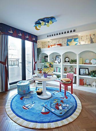 130平米复式地中海风格书房装修效果图