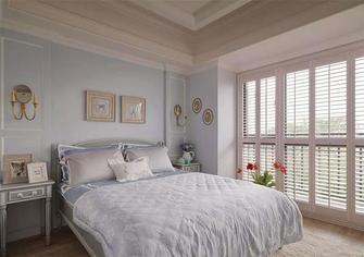 80平米三室一厅田园风格卧室图片大全
