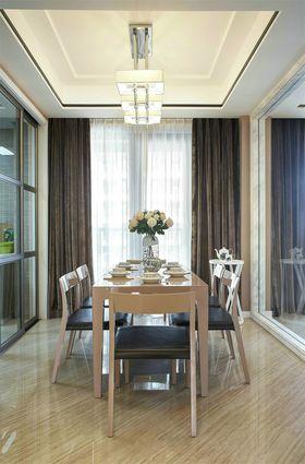 120平米三室兩廳現代簡約風格餐廳裝修案例