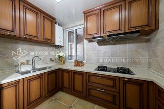 130平米复式美式风格厨房装修效果图