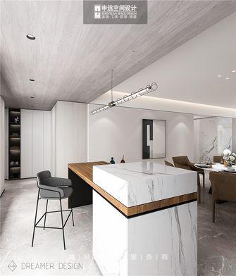 140平米四室三厅现代简约风格餐厅欣赏图