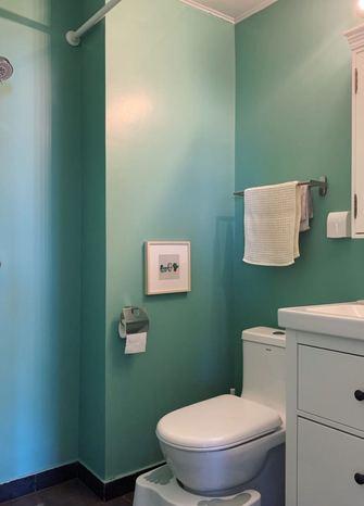 60平米一居室北欧风格卫生间图