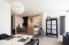 60平米公寓北欧风格餐厅隔断图