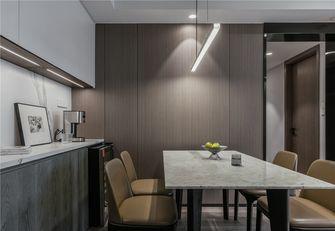 90平米三室一厅混搭风格餐厅设计图