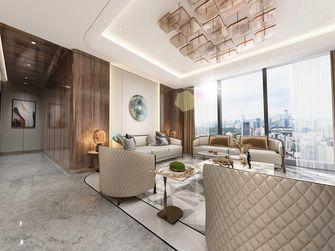 140平米四室一厅混搭风格客厅欣赏图