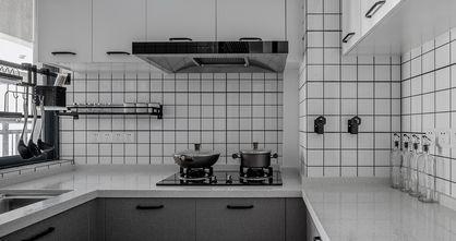 80平米北欧风格厨房图