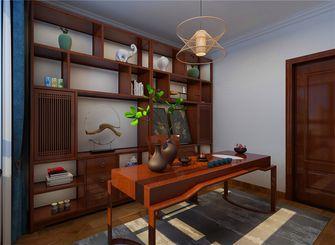 10-15万130平米三室两厅新古典风格书房图