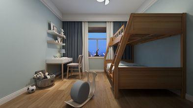 70平米三室一厅日式风格儿童房设计图