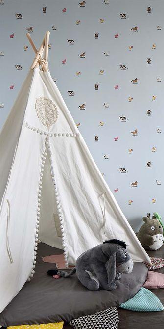 120平米三室两厅中式风格儿童房装修效果图