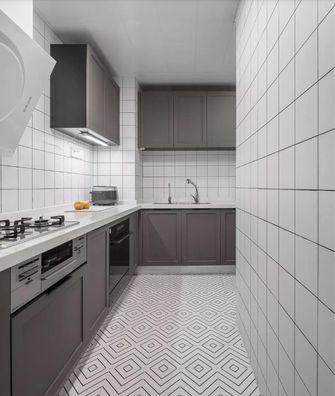 90平米三室两厅日式风格厨房图