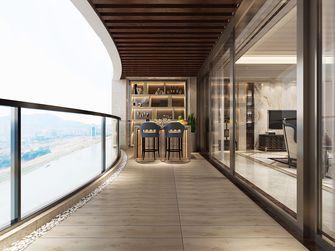 140平米四室三厅欧式风格阳台装修图片大全
