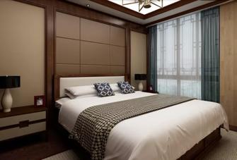 110平米一居室中式风格卧室效果图