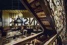 20万以上140平米三室一厅混搭风格楼梯效果图