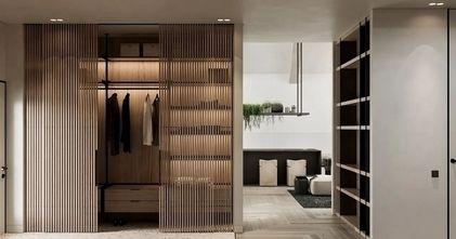 70平米三室两厅现代简约风格衣帽间图片大全