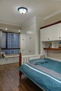 110平米三室两厅美式风格儿童房图片大全