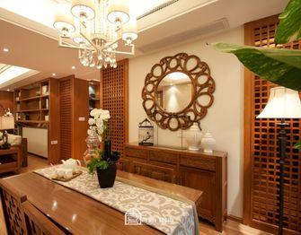 140平米四室两厅东南亚风格餐厅图