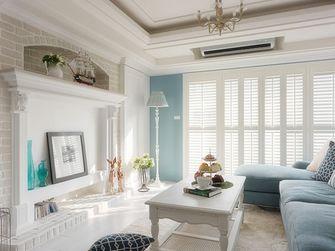 90平米公寓地中海风格餐厅设计图