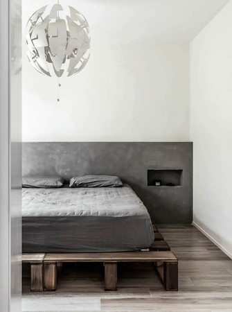 120平米现代简约风格卧室效果图