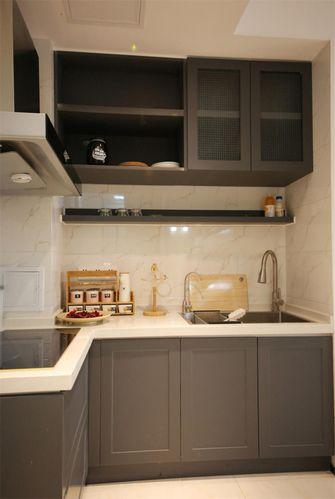 60平米一室两厅现代简约风格厨房装修案例