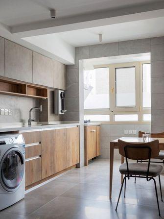 50平米一室两厅现代简约风格厨房图