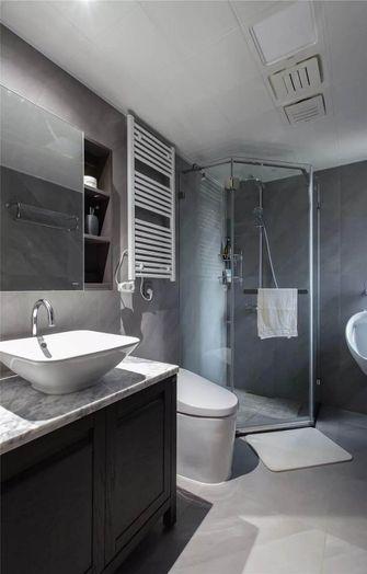 140平米三室两厅中式风格卫生间图片