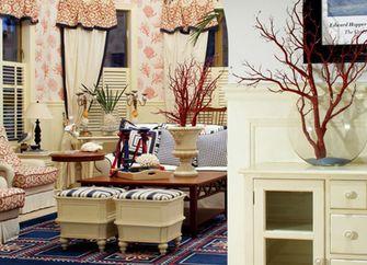 经济型140平米四室三厅英伦风格客厅装修图片大全