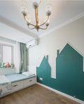 70平米美式风格儿童房装修案例