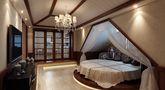 豪华型140平米别墅新古典风格阁楼欣赏图