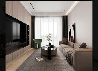 110平米三室三厅现代简约风格客厅欣赏图