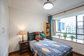 110平米三室一厅美式风格卧室装修图片大全
