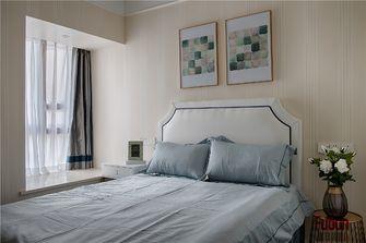 100平米三室一厅英伦风格卧室图片大全