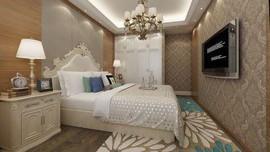 140平米三室一厅欧式风格卧室图片大全