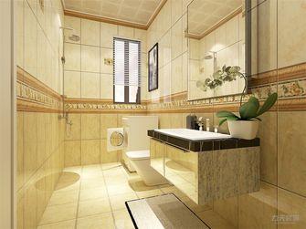 60平米一室一厅田园风格卫生间效果图